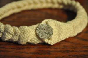 Diy Make Braided Knit Necklace Let