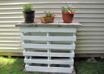 Diy Make Plant Stand Out Pallets Plans
