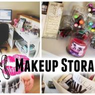 Diy Makeup Storage Organizers