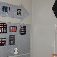 Diy Makeup Wall Organizer Our Crafty Mom