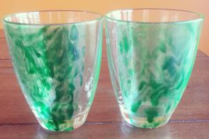 Diy Marbled Glassware Literally