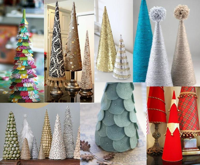 Diy Mini Christmas Trees 1000 Ideas