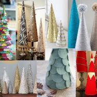 Diy Mini Christmas Trees 1000 Ideas