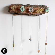 Diy Necklace Holder Upcycle