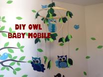 Diy Owl Baby Mobile Less Than