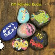 Diy Painted Rocks Easy Kid Craft