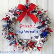 Diy Patriotic Door Wreaths