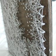 Diy Personalized String Art Tree