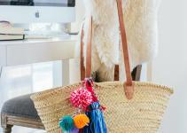 Diy Pom Beach Bag