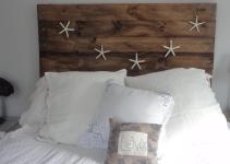 Diy Project Reclaimed Wood Heaboard Finding Silver