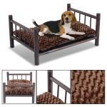Diy Raised Wooden Dog Bed Bedding Sets Beds Decoratorist 161060