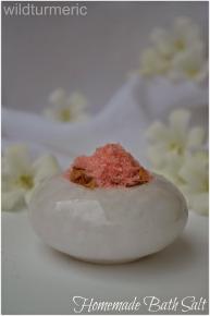Diy Recipe Make Easy Natural Homemade Bath Salts