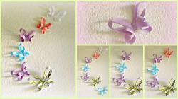 Diy Room Decor Paper Butterflies