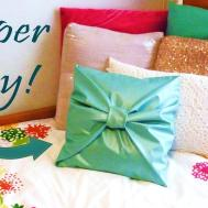 Diy Room Decor Sew Bow Pillow Cover