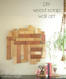 Diy Scrap Wood Wall Hanging