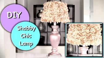 Diy Shabby Chic Lamp Shade