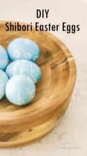 Diy Shibori Easter Eggs Boho Spring Decor