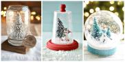 Diy Snowglobes Get Excited Christmas