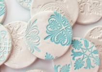 Diy Stamped Clay Magnets Gathering Beauty