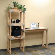 Diy Standing Desk Shelving Unit Project Sheet