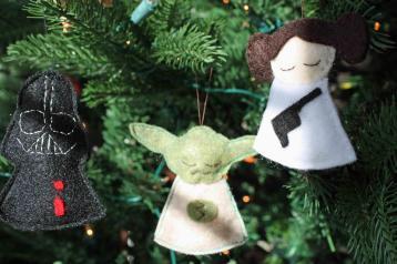 Diy Star Wars Christmas Ornaments Geekery