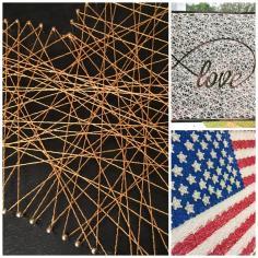 Diy String Art Project Celebrate Decorate