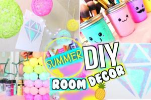 Diy Summer Room Decor 2017 Bright Fun