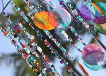 Diy Sun Catcher Wind Chime Stay Home Life