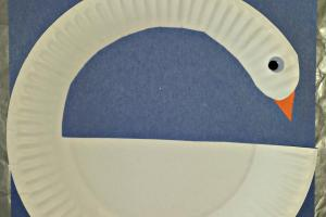 Diy Swan Paper Plate Craft Kids Crafty Morning