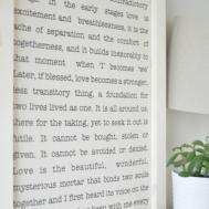 Diy Tea Towel Art Burst Beautiful