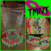 Diy Teenage Mutant Ninja Turtles Felt Coasters