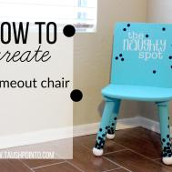 Diy Time Out Chair Goodwill Makeover