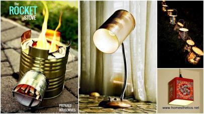 Diy Tin Can Crafts Ideas Should Definitely Take