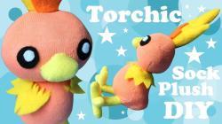 Diy Torchic Sock Plush Make Cute Pokemon Plushie