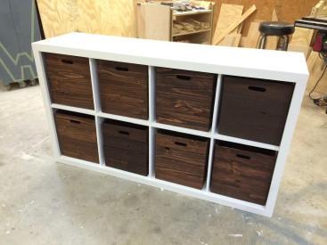 Diy Toy Storage Wooden Crates Wilker