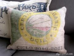 Diy Tutorial Burlap Crafts Recycled Coffee Bean