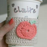 Diy Tutorial Mug Cozy Crochet Pumpkin Coffee Cup