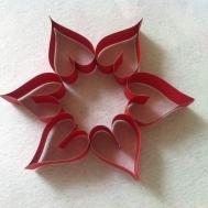 Diy Tutorial Wreath Paper Heart