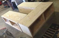 Diy Twin Bed Frame Storage Ana White Farmhouse