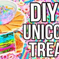 Diy Unicorn Treats Summer Everything Christmas