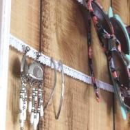 Diy Upcycled Hanging Jewelry Organizer