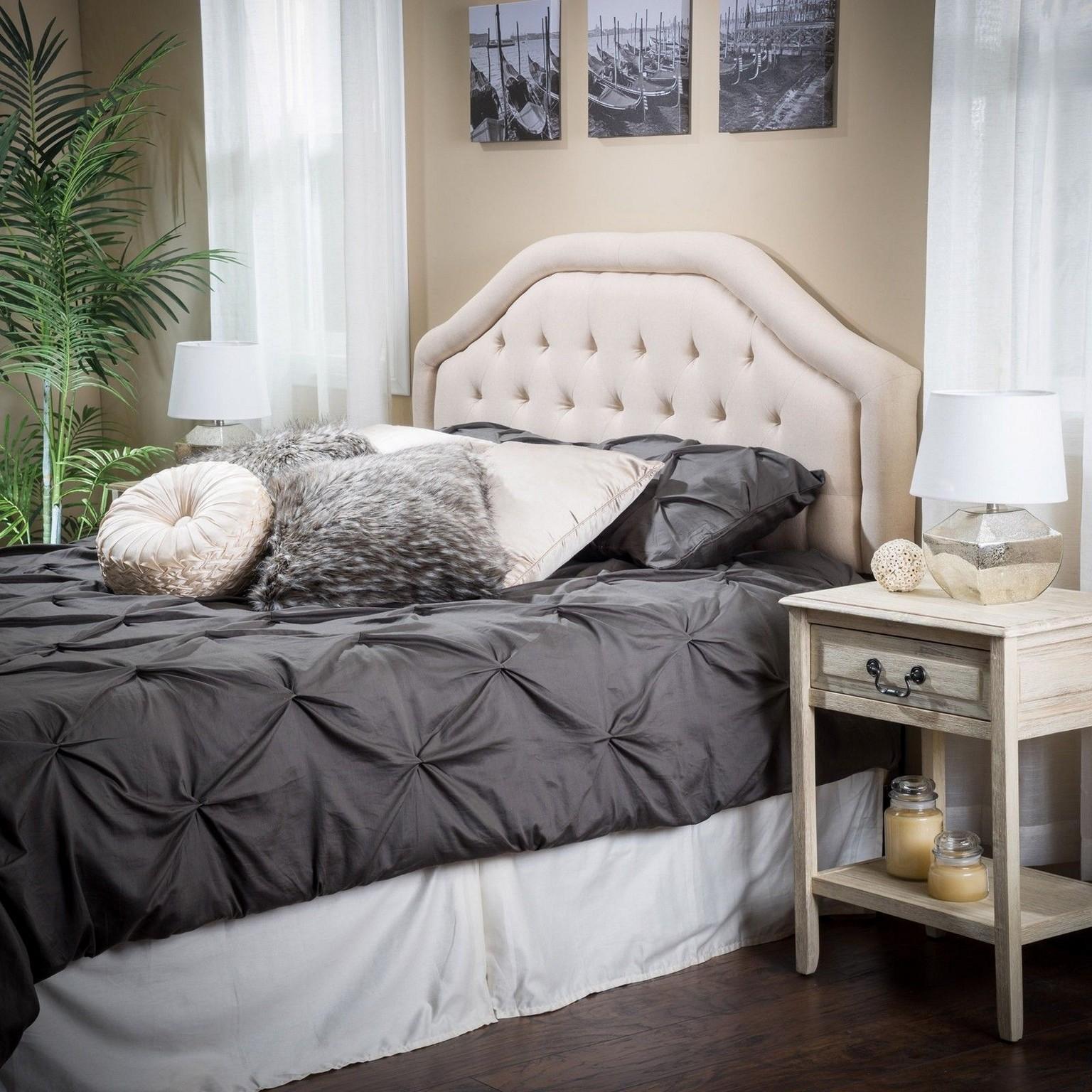 Diy Upholstered Headboard Nice Bedroom Ideas Decoratorist 15391