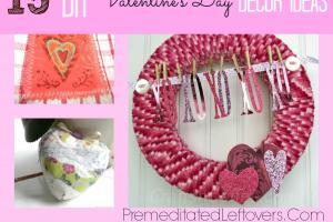 Diy Valentine Day Decor Ideas