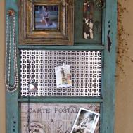 Diy Vintage Window Frame Organizer Favecrafts