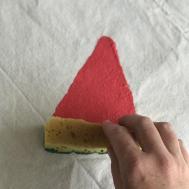 Diy Watermelon Picnic Blanket Happy Family Blog