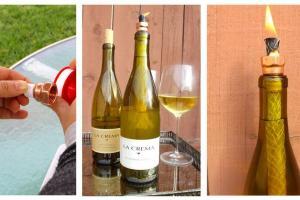 Diy Wine Bottle Lantern