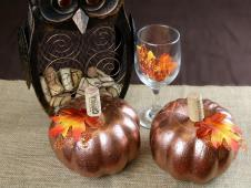 Diy Wine Cork Pumpkin Your Fall Table Centerpiece