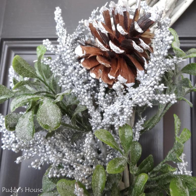 Diy Winter Wreath Puddy House