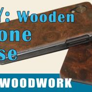 Diy Wood Backed Phone Case Iphone Android Nexus