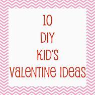 Domestic Charm Diy Kids Valentine Ideas